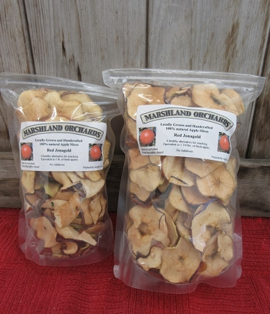 Dried Apple Slices - Red Jonagold